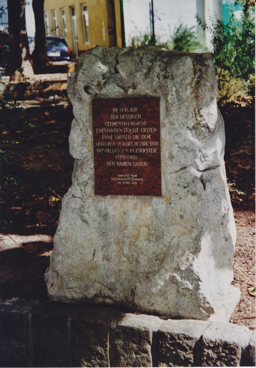 Gedenkstein Fünfhaus