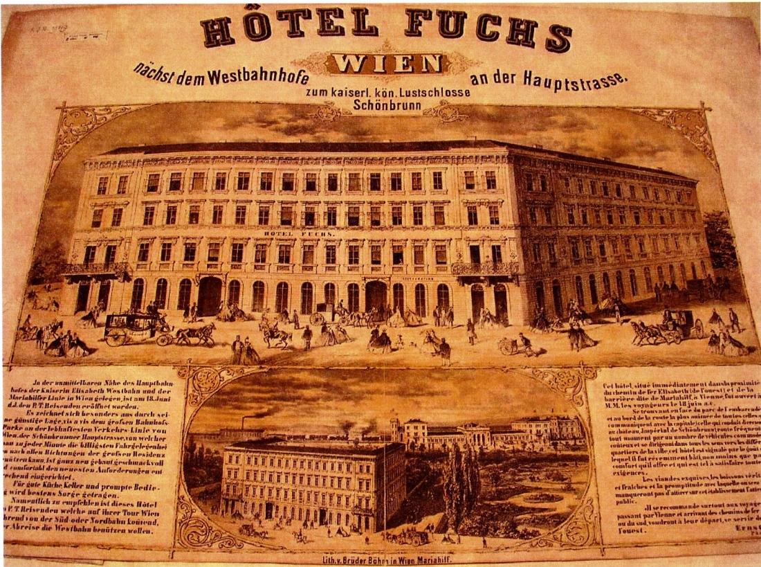 Hotel Fuchs, 19. Jh