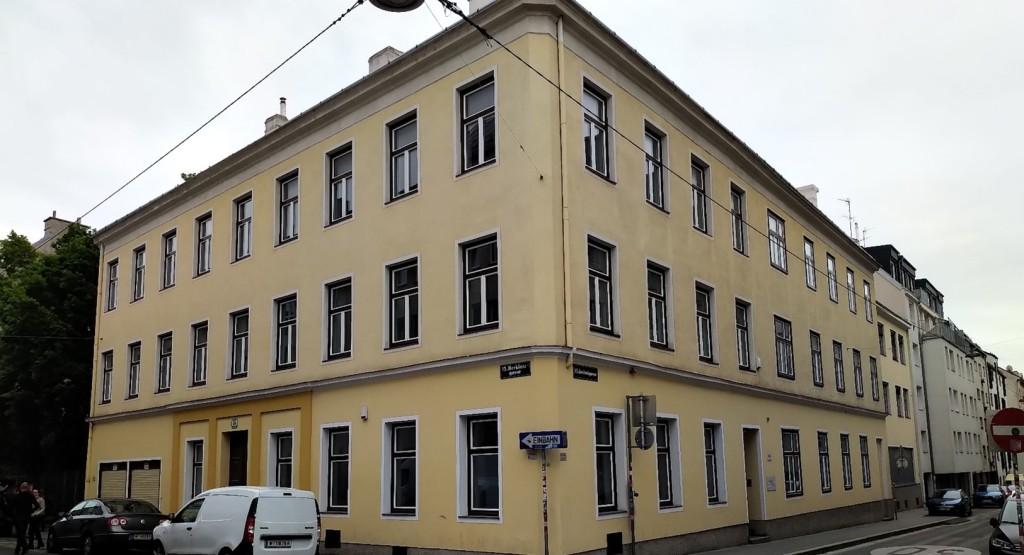 Das Gebäude der ehemalige Kinder-Bewahranstalt 2021